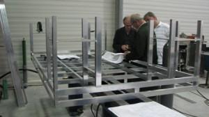 Производство алюминиевых ферм