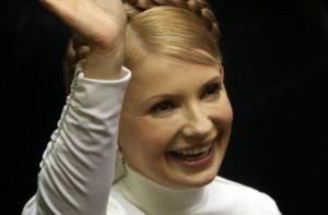 Юлия Тимошенко полетела в Брюссель