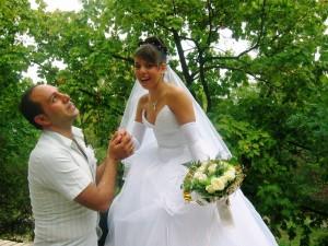 Свадьба. Пышные ухаживания вскоре сменились избиениями