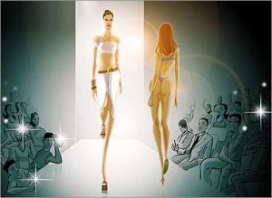 В Израиле запрещено снимать в рекламе худых людей