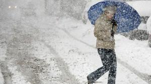 В Украине в понедельник ожидается мокрый снег и дождь