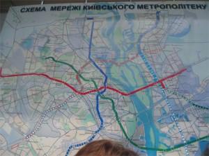 Четвертую ветку киевского метро на Троещину обещают закончить в 2018