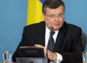 Грищенко: После парафирования Соглашения об ассоциации в раздел о ЗСТ будут вноситься технические правки