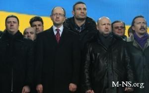 Яценюк и Турчинов зовут Кличко в объединенную оппозицию