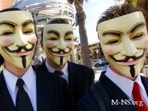 Anonymous атаковали правительственные сайты России