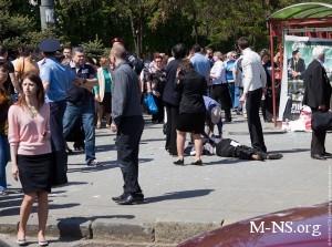 Теракты в Днепропетровске - удар по стабильности страны