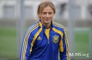 Тимощук доволен игрой сборной Украины в матче с Эстонией