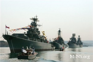В Черном море проходят совместные украино-российские учения Фарватер мира