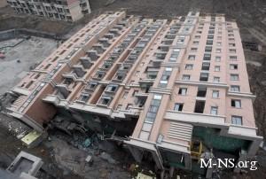 В центре Одессы рухнул еще один дом