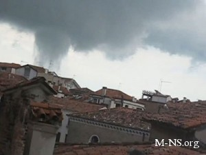 Над Венецией пронесся торнадо