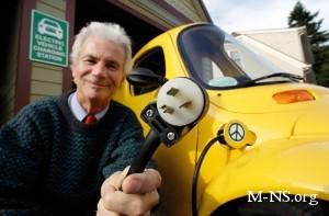 Немецкие ученые предложили заряжать электромобили от трамвайной контактной сети