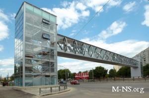 В Харькове открыли чудо-мост с нагревателями, санузлом, подсветкой и лифтами