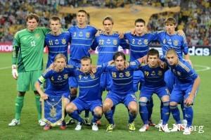 В матче против англичан Украина показала лучшую игру за последний год