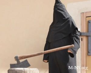 В Броварах инсценировали казнь судьи