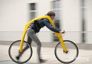 В Германии разработали велосипед без педалей и сидения