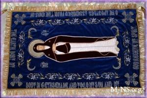 В Киево-Печерскую Лавру прибыла Плащаница Пресвятой Богородицы