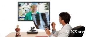 В Украине занятых пациентов лечат по видеосвязи
