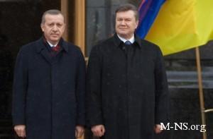 В Ялте Эрдоган жаловался Януковичу на бедность
