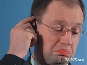 Яценюк намекнул, что Янукович может повторить судьбу Каддафи