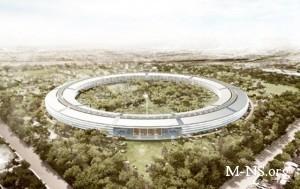 """Apple отложила строительство """"космической"""" штаб-квартиры"""