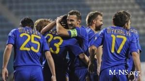 Болгария - Украина: украинцы спокойно обыграли болгар