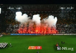 """Фаны """"Динамо"""" штурмовали стадион в Германии: есть пострадавшие"""