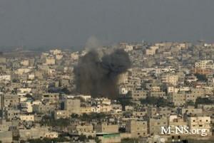 Израиль обстрелял территорию Сирии в ответ на ракетный удар