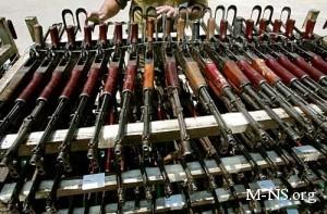 Милиция распродает пушки и зенитки