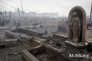 """На Нью-Йорк вслед за """"Сэнди"""" обрушился новый ураган"""
