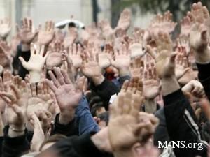 Оппозиция объявила бессрочный митинг