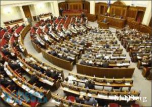 Рада ввела избрание спикера открытым голосованием