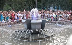В центре Тернополя провели реконструкцию фонтанов
