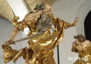 скульптуры Иоанна Пинзеля