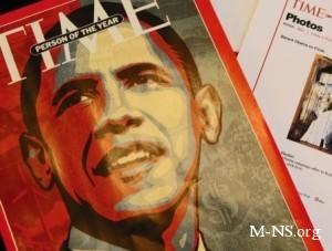 Журнал Time назвал Барака Обаму Человеком года