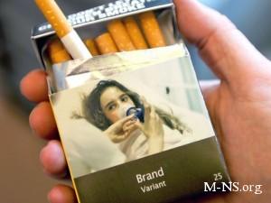 В Австралии ввели единый дизайн для упаковок сигарет