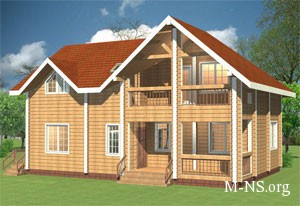 Разработка своего индивидуального проекта деревянного дома
