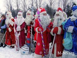Воспитанники киевских школ-интернатов перевоплотились в тайных агентов Деда Мороза