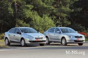 Dilery Renault i Skoda priostanovili prodaju avtomobilei v Ukraine