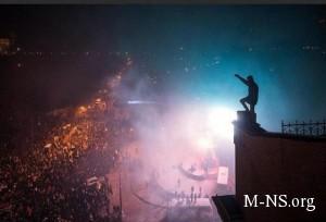 Egiptyane i ukraincy obmenivayutsya kokteilyami Molotova