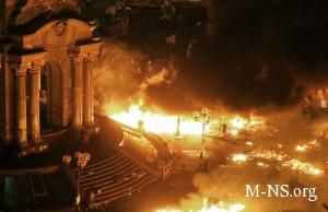 Lidery Evropy i SShA prizyvayut ostanovit' krovoprolitie v Kieve