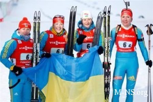 Ukrainki zavoevali pervoe zoloto v Sochi