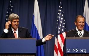 Kerri obsudit s Lavrovym Ukrainu pri gotovnosti Rossii k dialogu