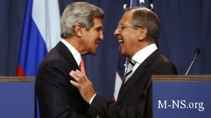Lavrov i Kerri obsudyat situaciyu na Ukraine 30 marta 2014g. v Parije