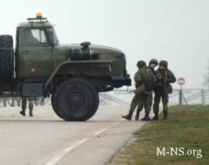 NATO identificirovalo rossiiskih voennyh v Krymu