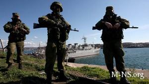 SMI rossiiskie voennye royut okopy vozle voinskih chastei v Krymu