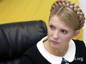 Timoshenko obvinyaet Putina v fashizme