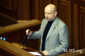 Turchinov Agressivnoe povedenie Rossii protivorechit tem principam, na kotoryh sozdavalas' PASE
