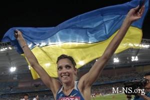Украинке сантиметра не хватило до «золота» ЧМ по легкой атлетике