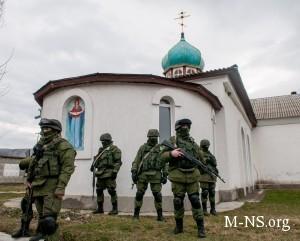 В Крыму находятся до 30 тысяч российских военных