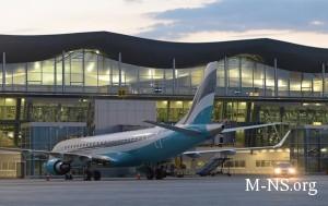 V fevrale aeroport Borispol' uvelichil passajiropotok na 30